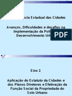 Avanços, dificuldades e desafios a implementação da política de desenvolvimento urbano.pdf