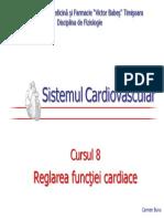 8. Reglarea Functiei Cardiace