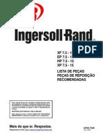 APDD 702B - Lista de Peças XF-EP-HP-XP 7.5  15 HP