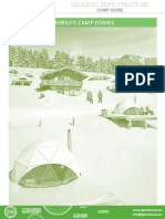 Geodomas Camp Dome 2014