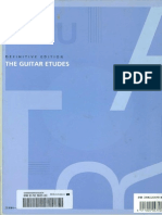 Definitive Edition the Guitar Etudes, Ed Kazutaka Ogawa