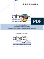 Program AITEC Southern Africa ICT Summit 2014 Portugues