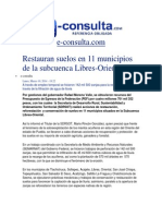 10-03-2014 e-consulta.com - Restauran suelos en 11 municipios de la subcuenca Libres-Oriental.pdf