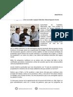 011 BOLETIN - Al regularizar tierras se accede a apoyos federales