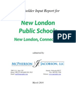 Stakeholder Report for New London Public Schools