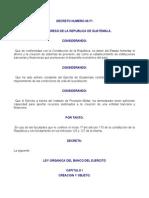 Ley Organica Banco Del Ejercito