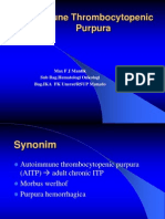 Immunnknkke Thrombocytopenic Purpura.ppt