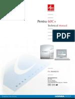ABX Pentra 60-C Plus Analyzer - Service Manual