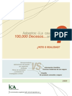 Asbestos La Causa de 100000 Decesos Anuales Mito o Realidad