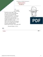Fernando Pessoa - Tão abstrata é a idéia do teu ser.