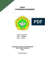 Tugas Sisten Informasi Manajemen