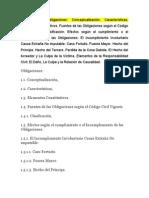 Análisis Crítico y Reflexivo de las Obligaciones Clase 07 10 2011 Reulacion Juridica de las Relaciones Privadas