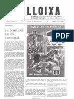 LLOIXA. Número 37,julio/juliol 1984. Butlletí informatiu de Sant Joan. Boletín informativo de Sant Joan. Autor
