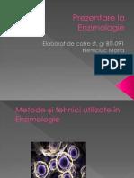 Metode și tehnici utilizate în Enzimologie