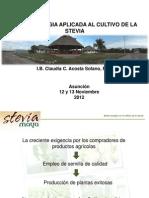 24 Produccion de Plantines Mejorados de Stevia Mediante La Aplicacion de La Biotecnologia
