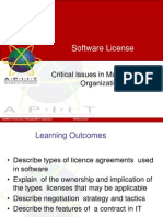Software Licence