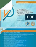 Programa Congreso_Investigación_UCEC_2014, Cortazar, Guanajuato, México
