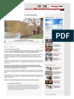 Geocaching - Im Eis Eingebrochen - Schatzsucher (51) Beim Geocaching Ertrunken - Hannover - Bild.de