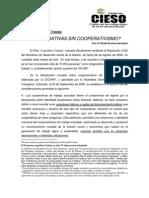 Cooperativas Sin Cooperativismo