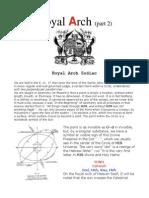 Royal Arch Zodiac