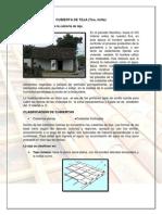 Cubierta de Teja (Tira, Tirilla) PDF