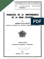 Franceses Indepcia COL#S E Ortiz