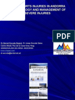 Snow sports injuries in Andorra, epidemiology and management of severe injuries.