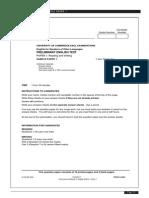 Sample Paper R&W PET