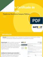 GTW CAT M 011 Manual Certificado de Autenticacao PECP P 1.0