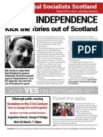 International Socialists Scotland March Bulletin