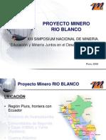Proyecto Rio Blanco