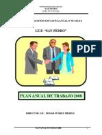 2008 Plan Anual de Trabajo