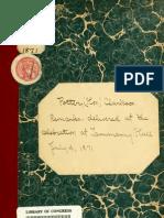 (1871) Remarks of Honorable Clarkson Nott Potter