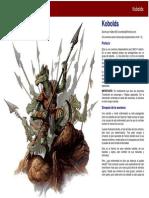 Kobolds D&D4 Aventura
