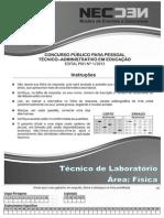 CONC TEC ADM FEV 2014 - MED_Técnico em Física