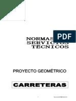 Normas Proyecto Geometrico SCT Version Mejorada
