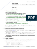Definiciones Excel