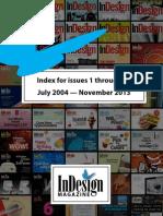 InDesign Magazine Index