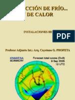 I.- PRODUCCIÓN DE FRÍO (fc)