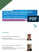 Lean Construction 7 Finnish Transport Agency