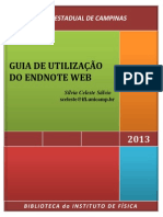 Guia Utilizacao Do Endnote Web