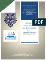Manual Reanimación Cardiopulmonar 2012
