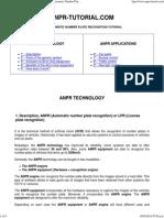 ANPR Tutorial - LPR License Plate Recognition. Automatic Number Plate Recognition ANPR