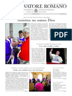 L´OSSERVATORE ROMANO - 07 Marzo 2014