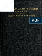 (1938) The Tammany Legend (Tamanend)