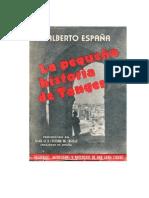 Alberto España. La pequeña historia de Tánger