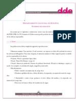 DDE Normas Editoriales 2012