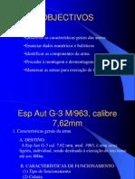 Esp Aut G-3 Calibre 7.62mm e Calibre Reduzido .22