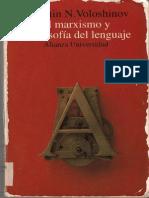 2 2 Voloshinov Hacia Una Filosofia Marxista Del Lenguaje-libre