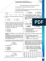 Evaluacion Bimestral de Matematicas Sexto PI